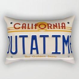 California Out A Time Rectangular Pillow