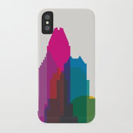 Shapes of Montreal. Accurate to scale. iPhone Case