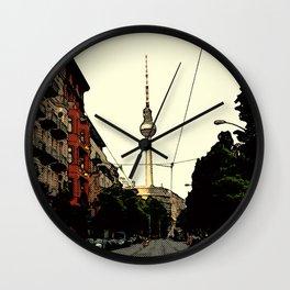 Berlin Retro Wall Clock