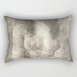 Vintage Erotic Rectangular Pillow