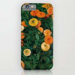 """Koloman (Kolo) Moser """"Marigolds"""" iPhone Case"""