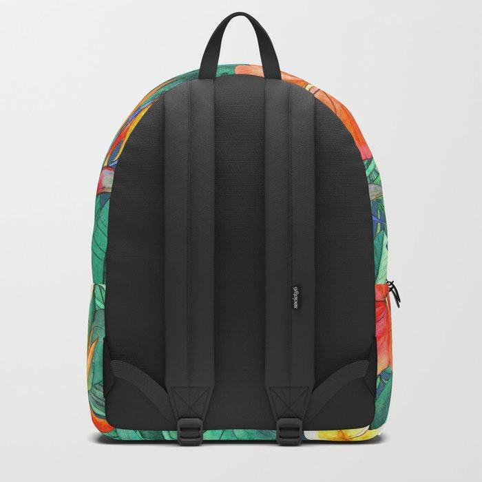 Classic Tropical Garden Backpack