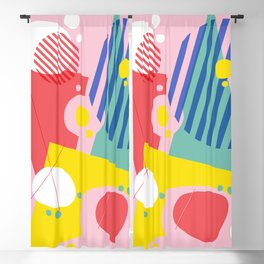 Abstract Pop I Blackout Curtain