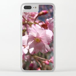 Perfect - Pink Cherry Blossom Clear iPhone Case