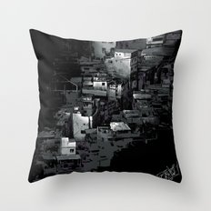 FAVELA Throw Pillow