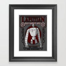 Laputian Automatons Framed Art Print