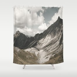 Cathedrals - Landscape Photography Shower Curtain