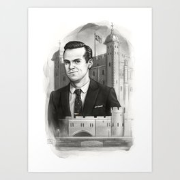 Moriarty Art Print