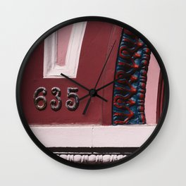 San Francisco IX Wall Clock