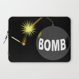 Bomb and Match Laptop Sleeve
