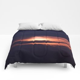 Sun and Clouds Comforters