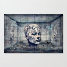 Phasenspektrum Canvas Print