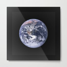 Nasa Picture 4: The earth from the space or the blue marble. Metal Print