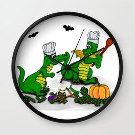Dragons - Happy Halloween ! Today I will cook Wall Clock