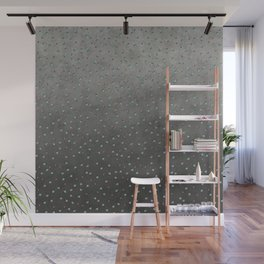 Colorful shimmering faux sequin glamour pattern Wall Mural