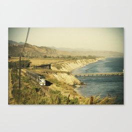 Along the coast Canvas Print