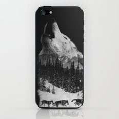 Howling Wolf iPhone & iPod Skin