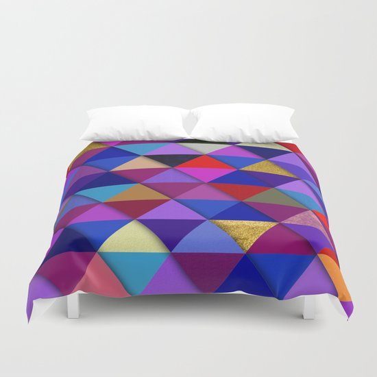 Abstract #276 Duvet Cover