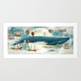 Finn's Dream Art Print