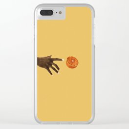 Yearning, calling Clear iPhone Case