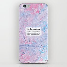 bohemian iPhone Skin