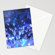H.E.L.L.O. / blue version Stationery Cards