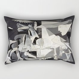 Pablo Picasso Guernica 1937 Artwork Shirt, Art Reproduction for Prints Posters Tshirts Men Women Rectangular Pillow