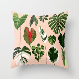 LEAF COLLECTION 01 Throw Pillow