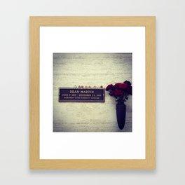 Rest in Peace Framed Art Print