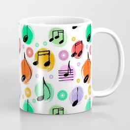Music Pattern | Note Instrument Musical Listening Coffee Mug