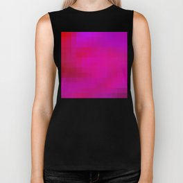 Re-Created Colored Squares No. 46 by Robert S. Lee Biker Tank