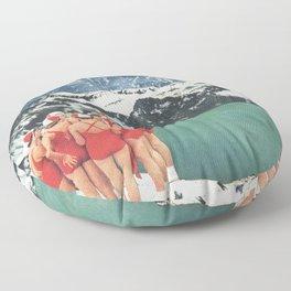 Polar Plunge Floor Pillow