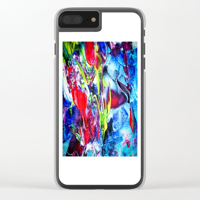 Abstract Perfection 6 Clear iPhone Case