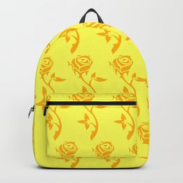 gold roses pattern Backpack