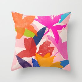 lily 16 Throw Pillow