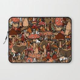Autumnal Mushrooms Laptop Sleeve