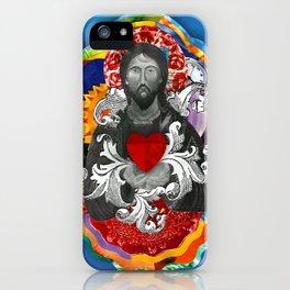 Sagrado Coração de Jesus (Sacred Heart) #2 iPhone Case