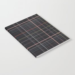 A very glommy plaid Notebook