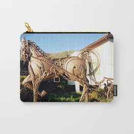 Horse & Plough by Shimon Drory Carry-All Pouch