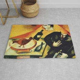 Marc Chagall The Drunkard Rug