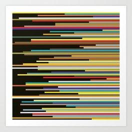 Color Shift Art Print