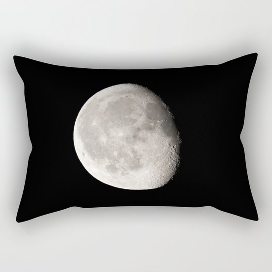 Waning Moon Rectangular Pillow