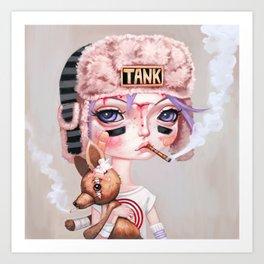 Tank Girl and Booga Art Print