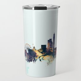 Birmingham England Skyline Travel Mug
