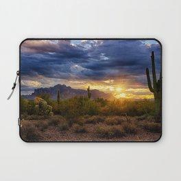 A Sonoran Desert Sunrise Laptop Sleeve