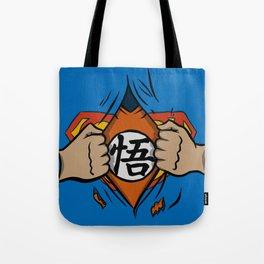 Super saiyan man Tote Bag