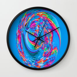 Psychedelic Sink Hole... Wall Clock