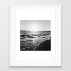 BEACH DAYS XIV Framed Art Print