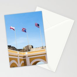 El Morro II Stationery Cards