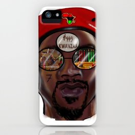Kwanzaa King Version 2 iPhone Case